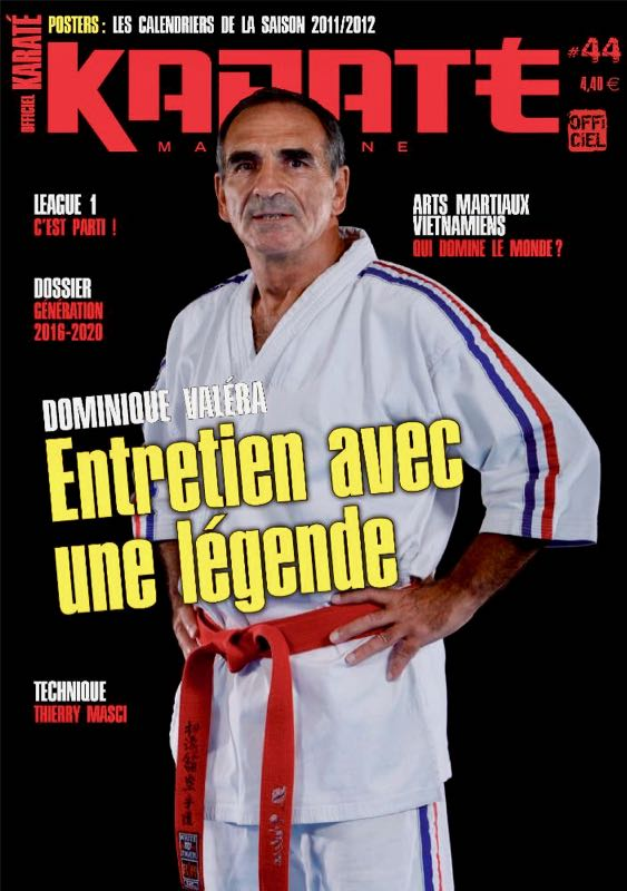 Dominique Valera Karate Club Valais Sion Suisse Switzerland Ecole Olivier Knupfer 7e Dan