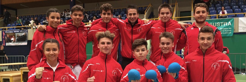 SKL Sursee 2017 Karate Club Valais Sion Suisse Switzerland Entraîneur Olivier Knupfer 7e Dan