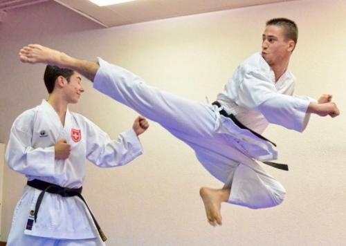 Kujtim Bajrami Karate Club Valais