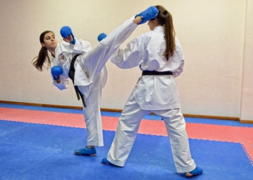 Iliana Bartolotta Karate Club Valais