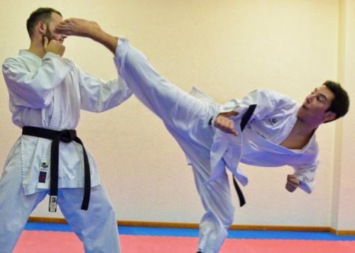 Gaetan Deletroz Karate Club Valais