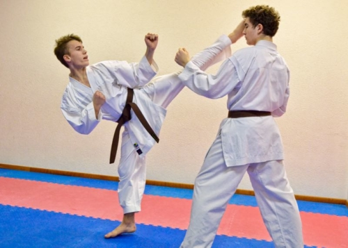 Jean-Baptiste Dayer Karate Club Valais