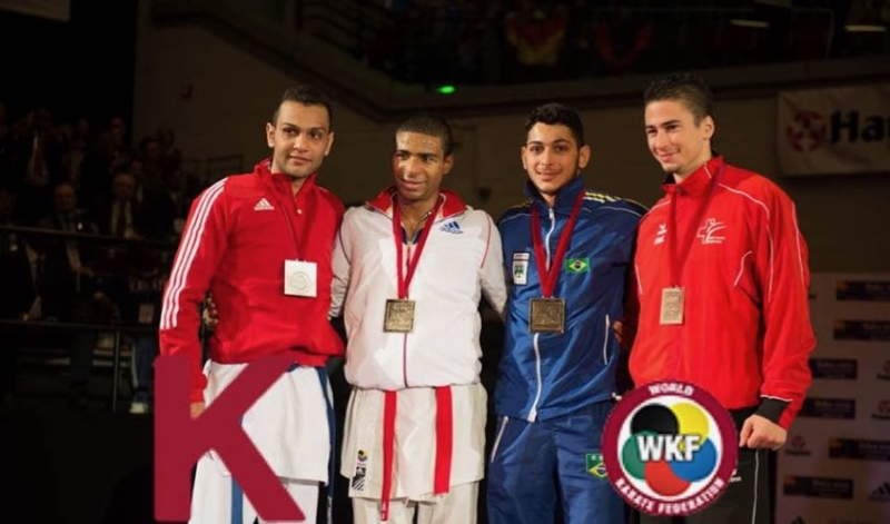 Kujtim Bajrami Championnats du Monde de Karate 2014 Karate World Championships Karate Club Valais Olivier Knupfer 7e Dan