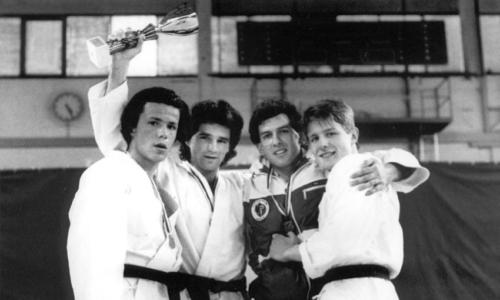 Championnats suisses 1989 Karate Club Valais Sion Suisse Switzerland Ecole Olivier Knupfer 7e Dan