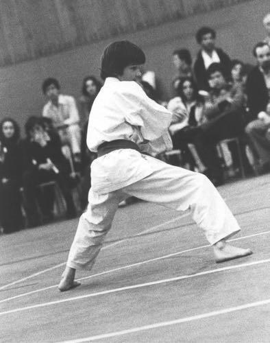1975 Olivier Knupfer Karate Club Valais Sion Suisse Switzerland Ecole Olivier Knupfer 7e Dan