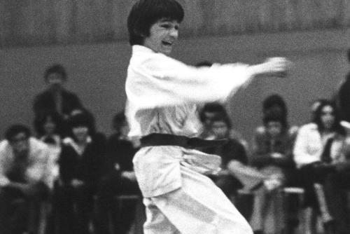 Olivier Knupfer 7e Dan Karate Club Valais Sion Suisse Switzerland
