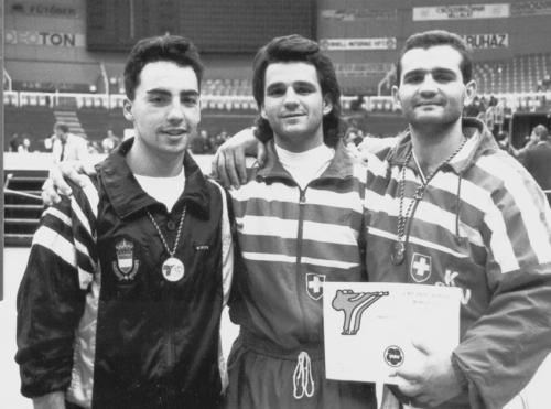 Olivier Knupfer Coupe du monde karate Budapest 1987