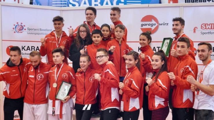 Championnats suisses 2017 | 9 médailles dont 4 titres pour le Karaté Club Valais
