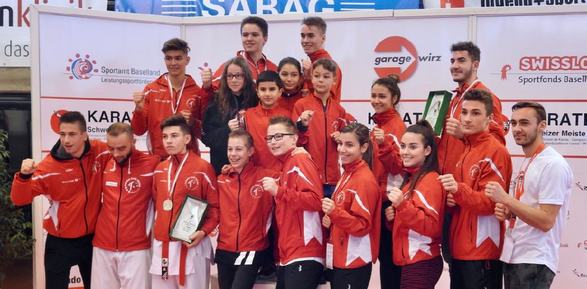 Championnats suisses 2017 Karaté Club Valais