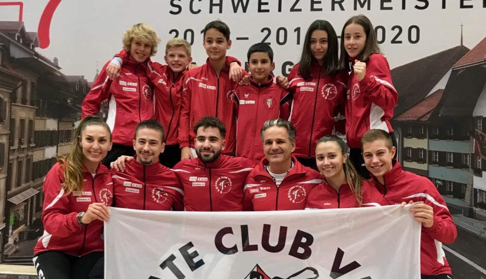 Championnats suisses karaté 2019 Karaté Club Valais