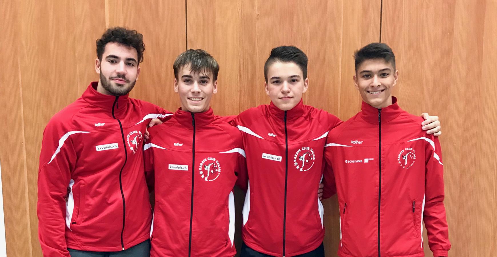 Championnats suisses 2018 | 10 médailles dont 3 titres pour le Karaté Club Valais