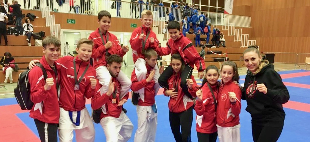 Chapionnats suisses Karate Club Valais