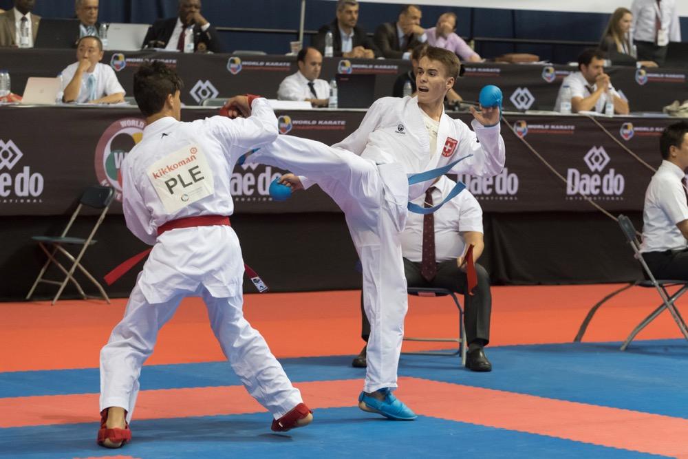 SKL Sursee 2018 Karate Club Valais Sion Suisse Switzerland Entraîneur Olivier Knupfer 7e Dan