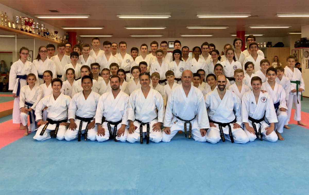 Karate Club Valais mars 2019