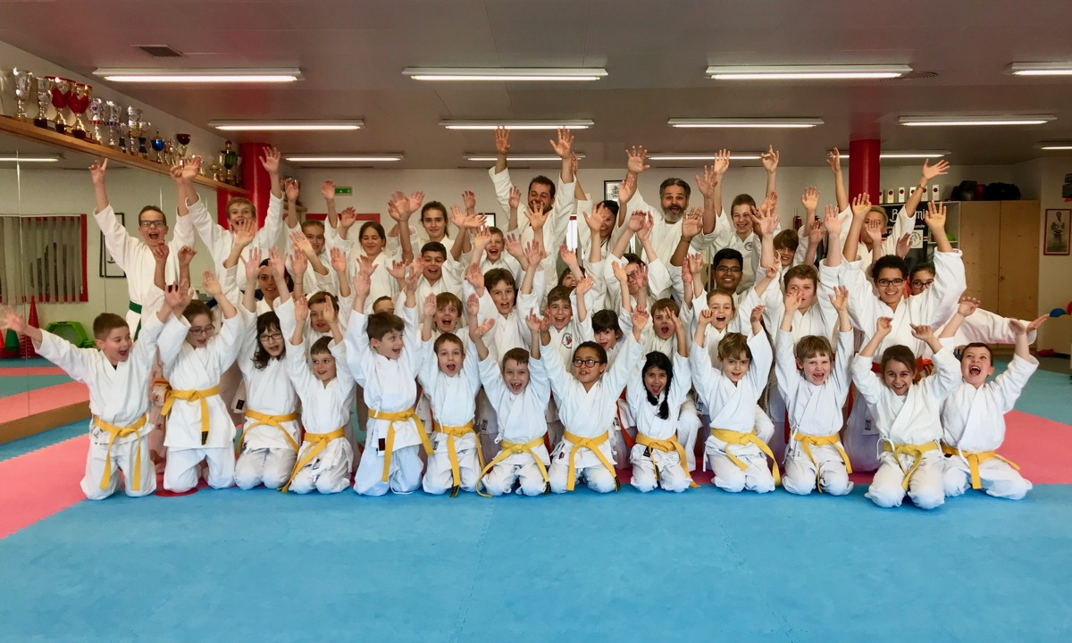 Stage Olivier Knupfer 7e Dan Karate Club Valais Sion Suisse