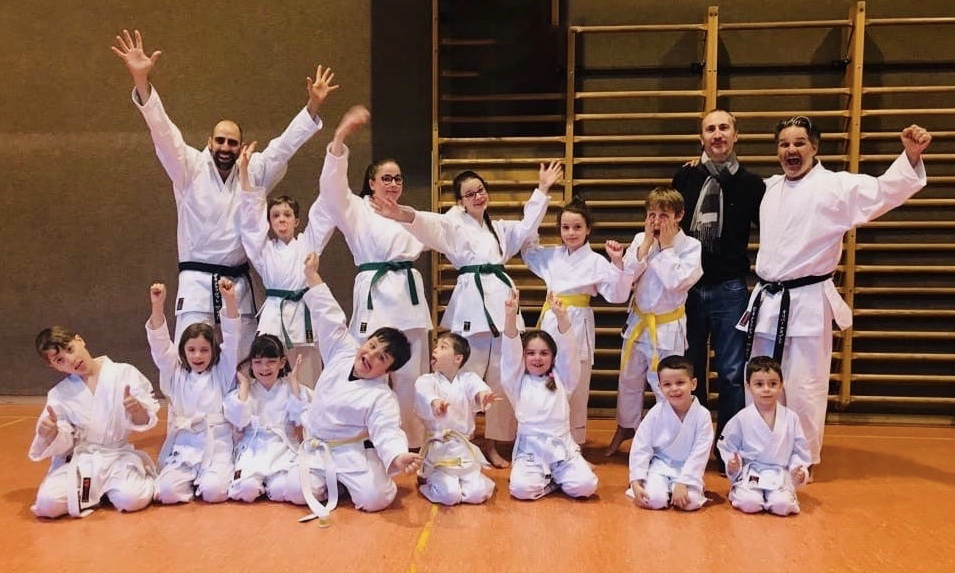 Passages de grades | Dojo de Conthey